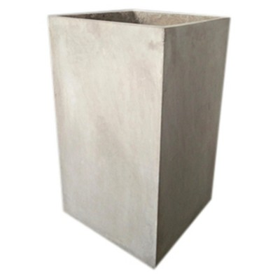 21  Square Concrete Planter - Gray - Project 62™