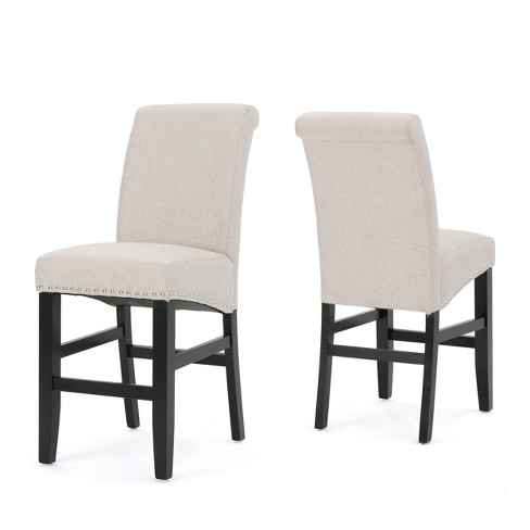 Set of 2 Lisette Counterstool Wheat - Christopher Knight Home - image 1 of 4