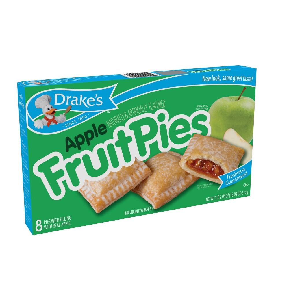 Drake 39 S Apple Fruit Pies 8ct 18 04oz