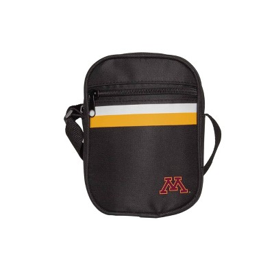 NCAA Minnesota Golden Gophers Black Mini Messenger Bag