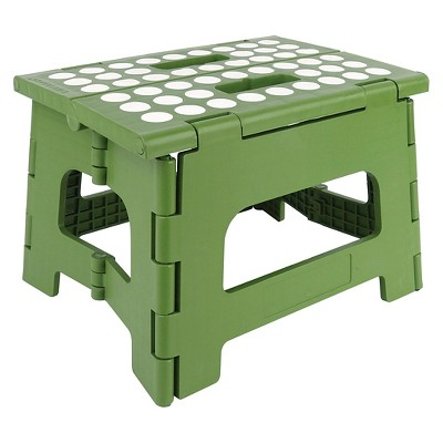Kikkerland Rhino Step Stool - Green