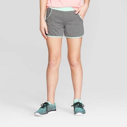 Girls' Knit Performance Shorts- C9 Champion® - image 1 of 3