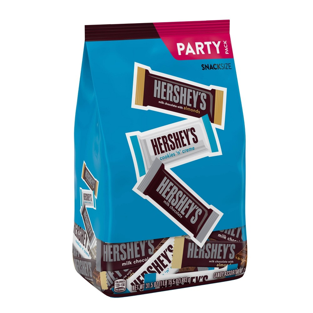 Hershey 39 S Club Assorted Snack Size Candy Bars 31 5oz