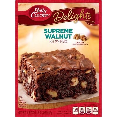 Betty Crocker Walnut Brownie Mix - 16.5oz