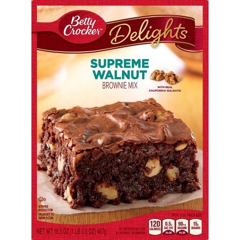 Betty Crocker Walnut Brownie Mix - 16.5oz - image 1 of 4