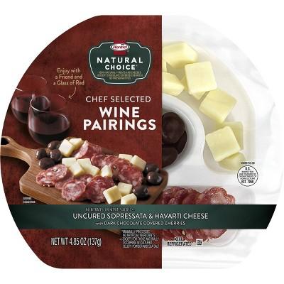 Hormel Natural Choice Sopresatta, Havarti and Chocolate Cherries Red Wine Pairing - 4.85oz