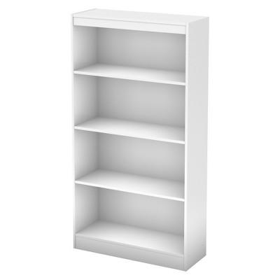 56  4 Shelf Pasadena Bookcase Pure White - South Shore