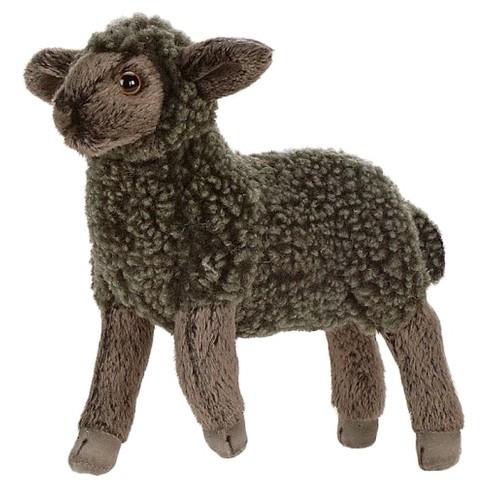 Hansa Black Little Lamb Plush Animal Target
