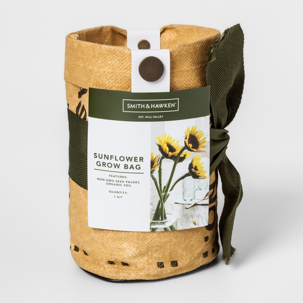 Grow Kits Sunflower - Smith & Hawken, Milestone Beige