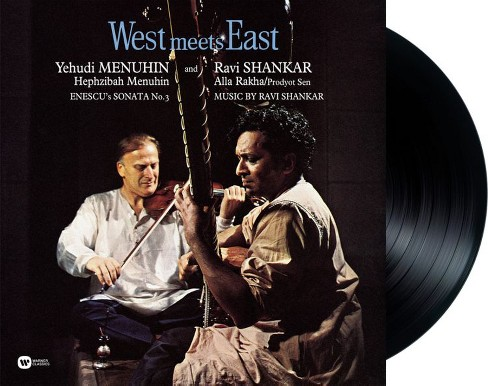 Yehudi menuhin - West meets east (Vinyl) - image 1 of 1