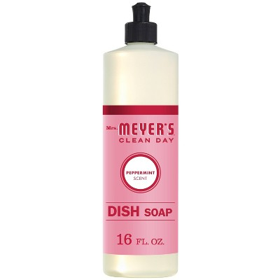 Mrs. Meyer's Clean Day Dish Soap - Peppermint - 16 fl oz