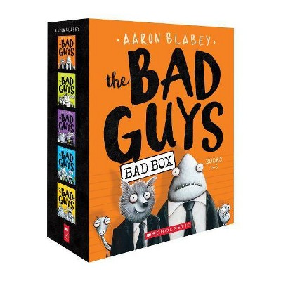 Bad Guys Box Set : The Bad Guys / The Bad Guys in Mission Unpluckable / The Bad Guys in the Furball - by Aaron Blabey (Paperback)