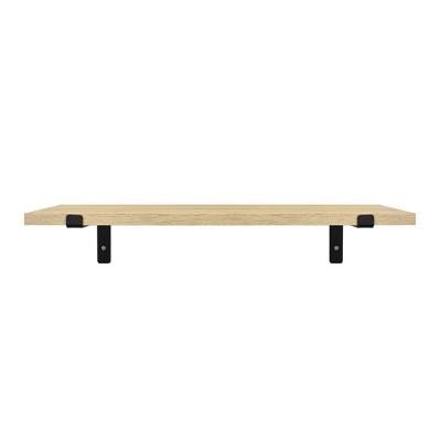 Wood Wall Shelf Wall Shelf with Reversed L Bracket - Threshold™
