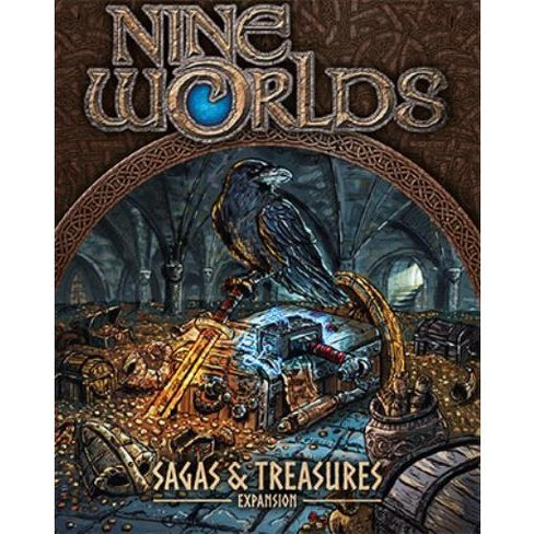 Nine Worlds - Sagas and Treasures Expansion Board Game - image 1 of 1