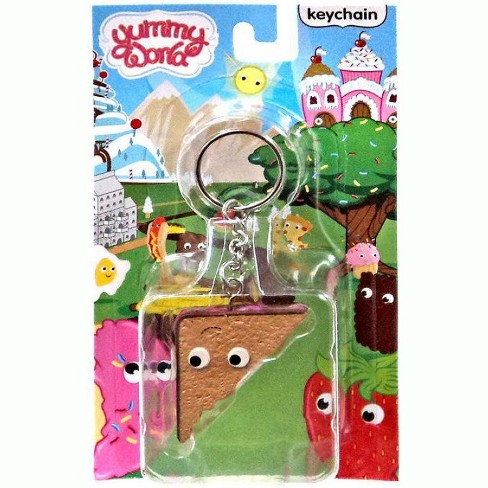Yummy World Peanut Butter and Jelly Sandwich Keychain - image 1 of 1