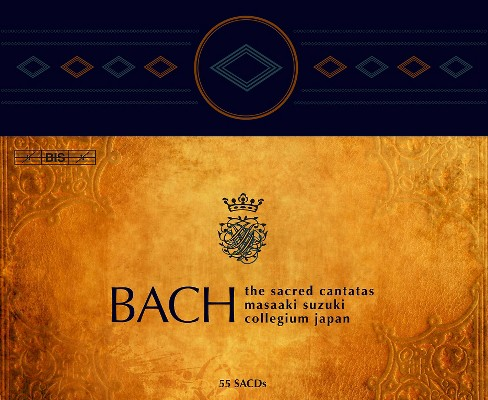 Bach collegium japan - Bach:Complete sacred cantatas (CD) - image 1 of 1