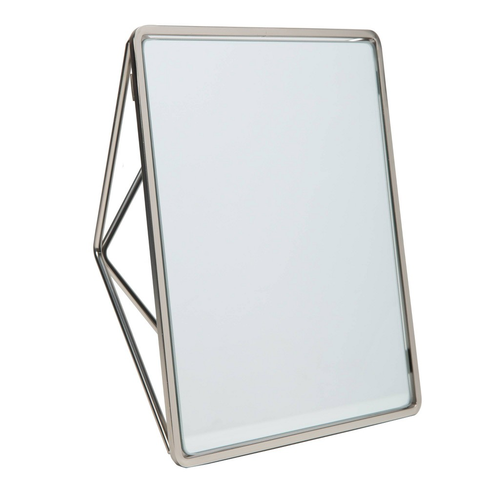 Image of Bathroom Vanity Mirrors Silver - Home Details