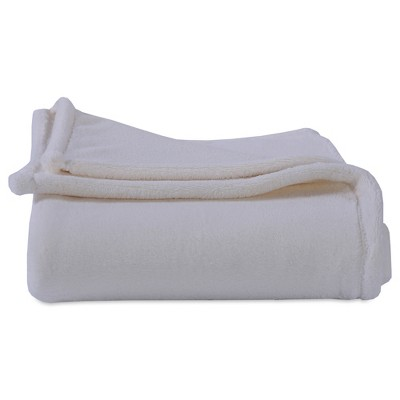 Throw Blankets Solid Off White (50 X60 )- Better Living