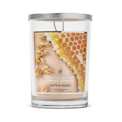 Jar Candle Oats & Honey 19oz - Home Scents by Chesapeake Bay Candle®
