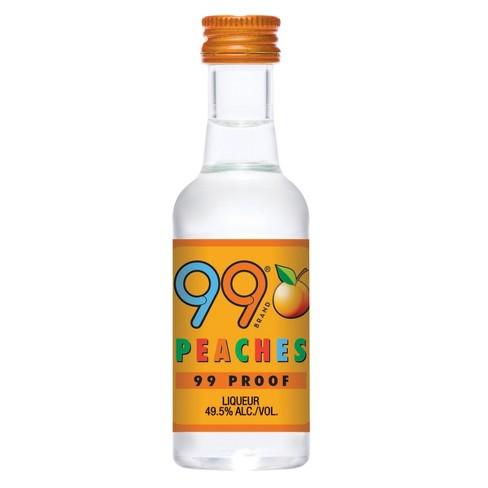 99 Peaches Liqueur - 50ml Plastic Bottle - image 1 of 1