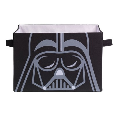 Lambs & Ivy Star Wars Darth Vader Foldable/Collapsible Storage Bin Organizer