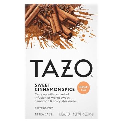 Tazo Sweet Cinnamon Spice Herbal Tea - 20ct