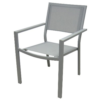 Afton Stack Sling Patio Chair Slate - Threshold™
