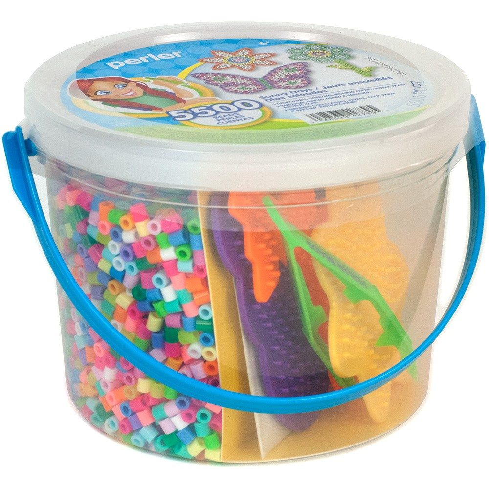 Image of Perler Sunny Days 5500ct Beads Activity Bucket