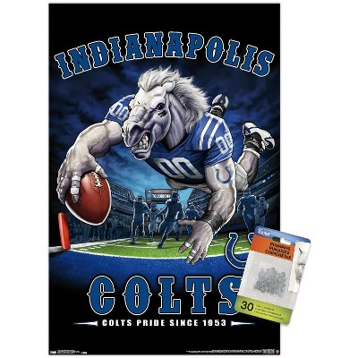 Trends International NFL Indianapolis Colts - End Zone 17 Unframed Wall Poster Prints