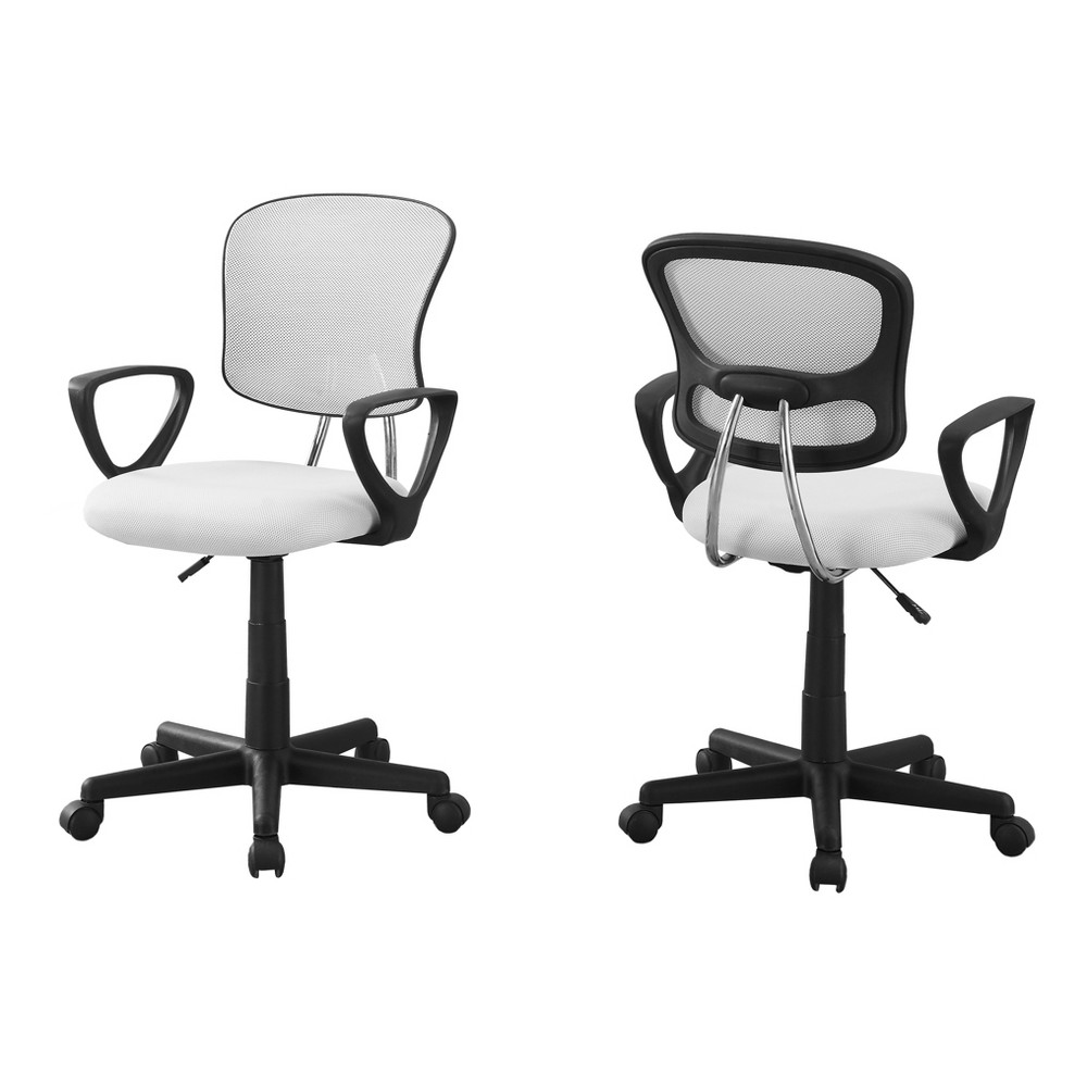Image of Office Chair - White Mesh - EveryRoom