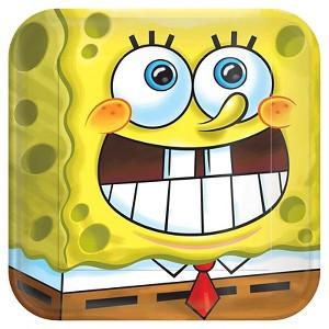 8 ct SpongeBob Square Paper Dessert Plates