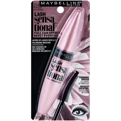 1c4c53e6bc8 Maybelline Eye Lash Sensational Waterproof Mascara - 0.32 Fl Oz : Target