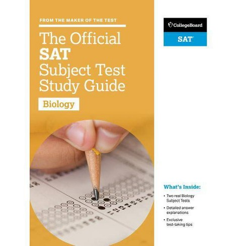 The Official SAT Subject Test in Biology Sudy Guide - (College Board  Official SAT Study Guide)