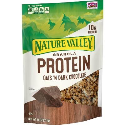 Nature Valley Protein Oats 'n Dark Chocolate Crunchy Granola - 11oz
