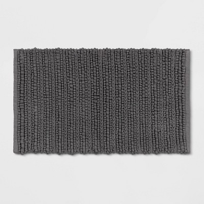 "20""x32"" Chunky Bath Rug Radiant Gray - Threshold™"