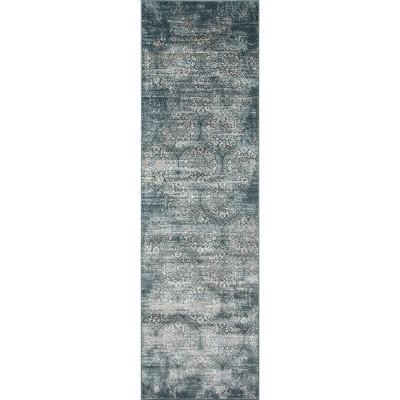 Exeter Rug - Green - (2'3 x7'6 )- Momeni