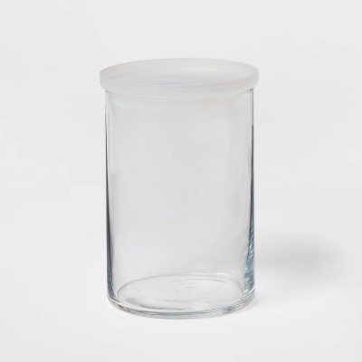 31oz Glass Large Stackable Jar with Plastic Lid - Made By Design™