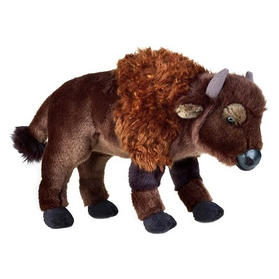 Lelly National Geographic Bison Plush Toy