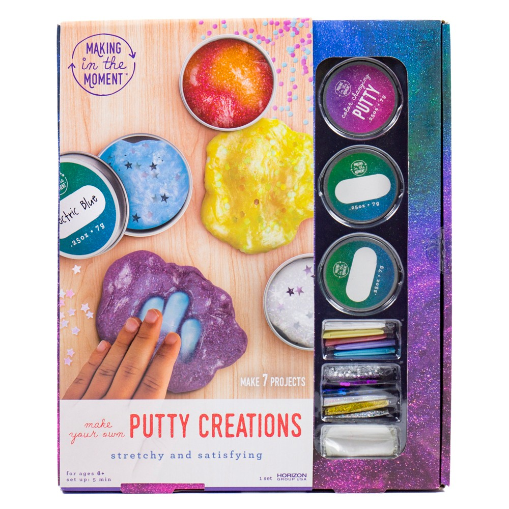 Magic Mixing Putty Creations - Making in the Moment