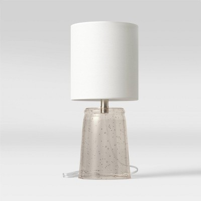 Bubble Glass Accent Lamp Gray - Threshold™