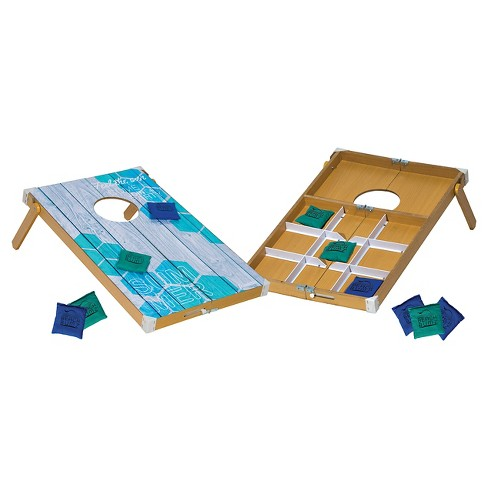 Franklin Sports Beach Bumz Bean Bag Toss Tic Tac Toe Combo Game - image 1 of 3