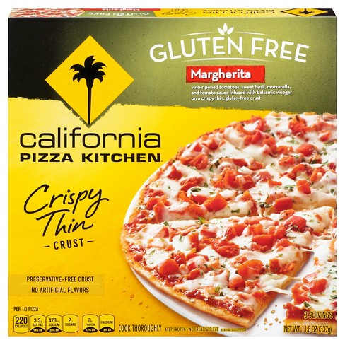 California Pizza Kitchen® Gluten Free Margherita Frozen Pizza - 11.9oz - image 1 of 4