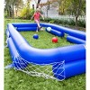 HearthSong Inflatable Soccer Pool Backyard Game for Kids and Adults, Includes Seven Inflatable Balls - image 4 of 4