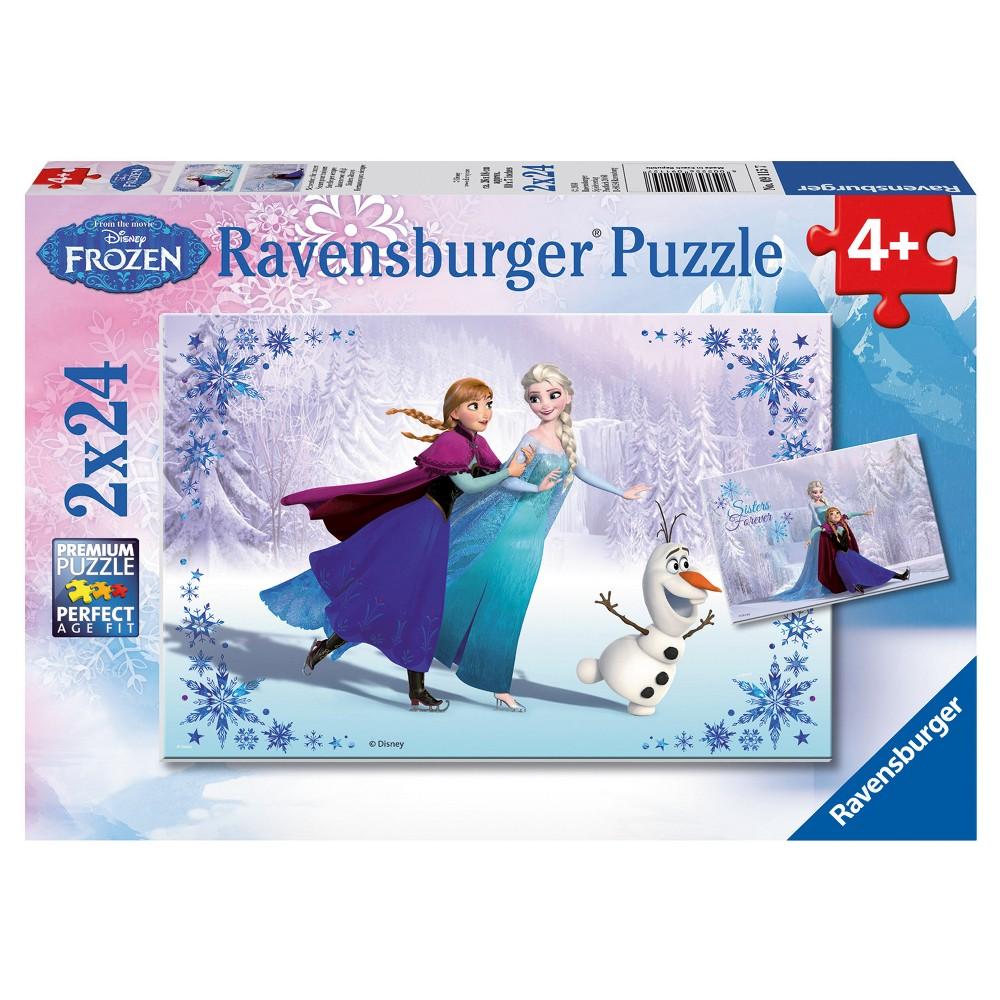 Disney Frozen Sisters Always 24pc Puzzle