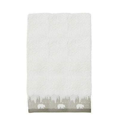 Saranac Hand Towel Natural - Destinations