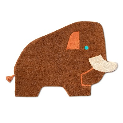 """2'6""""x3'6"""" Woolly Mammoth Accent Rug - Christian Robinson x Target"""