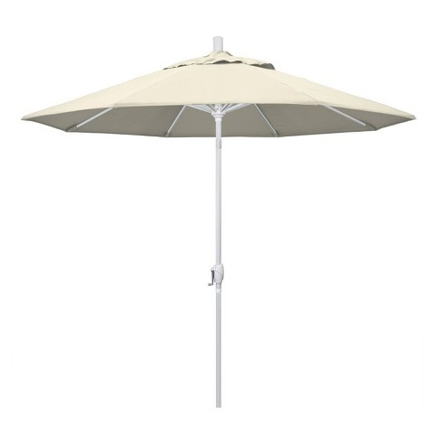 9' Patio Umbrella in Antique Beige - California Umbrella - image 1 of 2