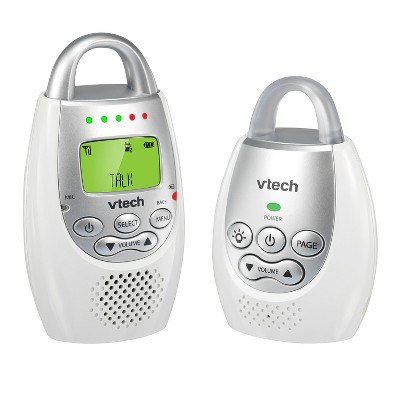 VTech Digital Audio Baby Monitor with Night Light and Talk Back Intercom - DM221