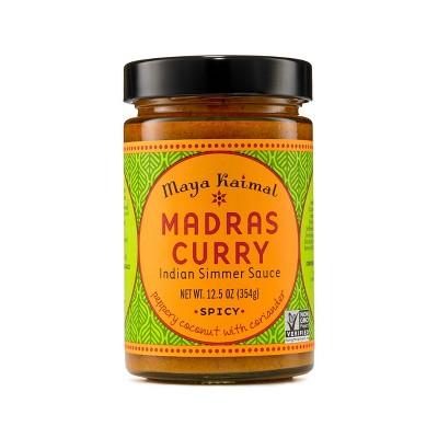 Maya Kaimal Madras Curry Simmer Sauce -12.5oz