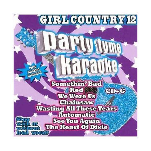 Various - Party Tyme Karaoke: Girl Country 12 (CD)